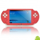 "V10 Android 2.3 5.0"" LCD Media Player Game Console w/ Dual Camera / WiFi / TV-out - Red (4GB)"
