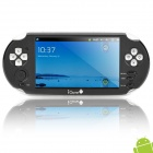 """Android 2.3 V10 5.0 """"LCD Resistance Media Player Spielkonsole w / Dual-Kamera / TV-Out - Schwarz (4GB)"""