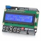 LCD Keypad Shield for Arduino Duemilanove &amp; LCD 1602
