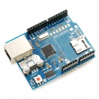 Ethernet Shield w/ Wiznet W5100 Ethernet Chip / TF Slot - Blue + Black
