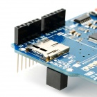 Ethernet Shield w / Wiznet W5100 Ethernet Chip / TF Slot - azul + preto