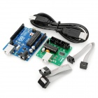 Arduino Compatible Uno 2011 ATmega328P-PU + 2-in-1 Download Board with USB Cable