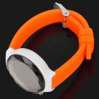 P038L Delicate Rhinestone LED Electronic Watch - Orange