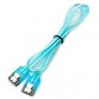 High Speed SATA 3.0 SATA III Hard Disk Drive HDD Data Cable - Blue (50CM)