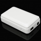 recargable Bluetooth V2.0 receptor de audio - blanco