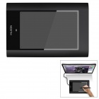 HUION USB Graphics Drawing Tablet w/ Stylus - Black (8&quot; x 5&quot;)