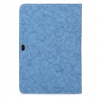 Protective PU Leather Case for Samsung Galaxy Tab P7510 / P7500 - Blue