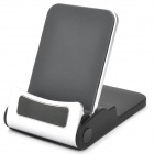 ABS Portable Folding Stand Holder for iPad / iPhone - Black + Silver