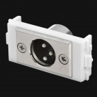 Cannon Female Signal Module for 86 Switch Panel