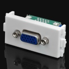 VGA Female to Female Signal Module for 86 Switch Panel