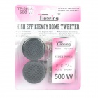 500W DIY Modified Mini Speakers for Car - Black (Pair)