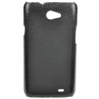 Protective Woven Pattern PC Case for Samsung Galaxy Note i9103 - Black