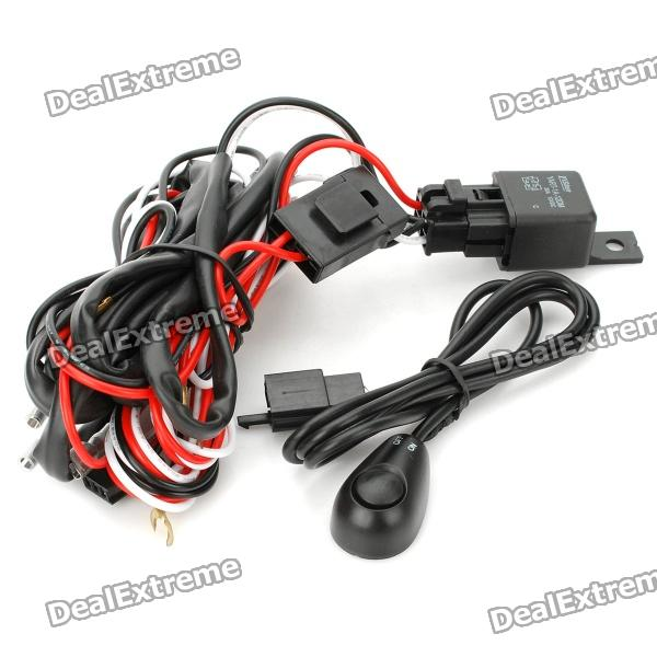 cheap h3 55w car lamps wiring harness kit w fuse switch dc 12v rh dx com Lamp Making Kits Lowe's Table Lamp Making Kit