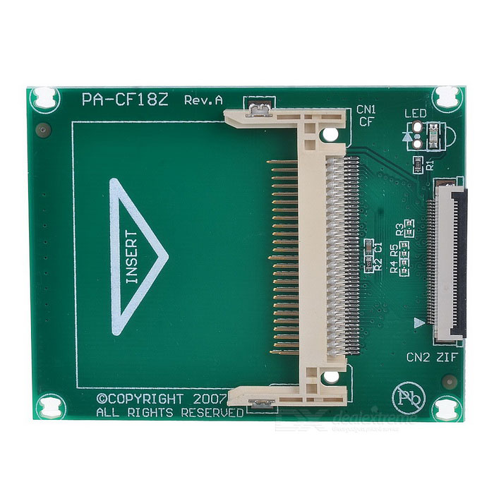 DX / CF/ZIF Convertor Circuit Board with ZIF Cables
