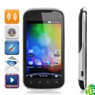 "A1 Android 2.3 WCDMA TV Smartphone w/ 4.0"" TFT Capacitive, Wi-Fi, Dual SIM and GPS - Black"