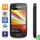 "Samsung Galaxy W I8150 Android 2.3 WCDMA Smartphone w/ 3.7"" Capacitive, Wi-Fi and GPS - Black"