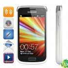 "Samsung Galaxy W I8150 Android 2.3 WCDMA Smartphone w/ 3.7"" Capacitive, Wi-Fi and GPS - White"