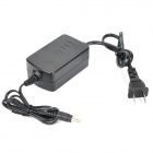 Power Adapter for Indoor Monitoring Camera - Black (2-Flat-Pin Plug / DC 12V)