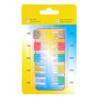Universal Car Power Fuse Set (10-Piece/Small Size)
