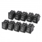 Electrical Power Control On/Off Rocker Switch (10-Pack)