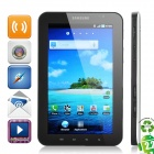 "Refurbished Samsung P1000 Galaxy Tab Android WCDMA Tablet Phone w/7.0"" Capacitive and GPS - White"