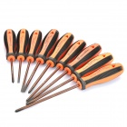 9-in-1 Screwdrivers Kit - Orange + Black