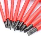 9-in-1 Screwdrivers Kit - Red