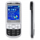 "C3+ GSM TV Bar Phone w/2.4"" LCD, Dual SIM, Quad Band and FM - Black"