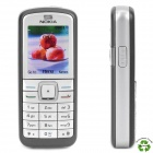 "Refurbished Nokia 6070 GSM Cell Phone w/ 1.8"" LCD, Triple Band, JAVA and FM - Grey + Silver"
