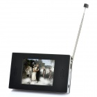 "2.4"" Touch Screen DVB-T Digital Player Television w/ TF - Black"
