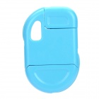 Mini USB Data Cable Keychain for iPhone / iPod - Blue