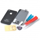 Replacement Touch Screen Digitizer LCD + Back Cover Module w/ Tools Kit for iPhone 4s - Black