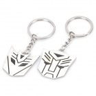 Fashion Stainless Steel Couple Keychains - Transformers (Pair)