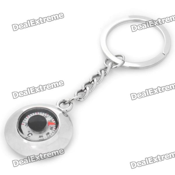 Mini Thermometer Keychain