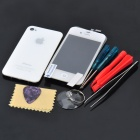 Replacement Touch Screen Digitizer LCD + Back Cover Module w/ Tools Kit for iPhone 4s - White