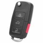 American Version Folding Ford Car 3-Button Remote Lock Key - Black