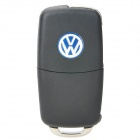 Replacement Folding 3~4 Button Remote Key Shell Case for VW Touareg