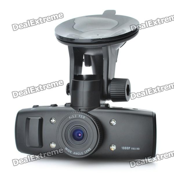 "5.0MP Wide Angle Car DVR Camcorder w/ 4-LED Night Vision / TF / AV-Out / HDMI (1.5"" TFT LCD)"
