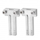 Stainless Steel T-shape Benz Car Key Fixture (Pair)