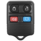 Ford Car 4-Button Remote Key Lock Set - Black