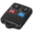 Carro Ford 4-Button Set Remote Lock Key - Preto