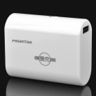 Pisen 4400mAh Rechargeable Mobile Power Battery Pack - Ivory White