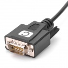 Z-TEK ZE552A USB 2.0 to 4 x RS232 Serial Adapter Cable - Black