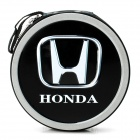 Portable Metal CD Storage Bag Box with Honda Car Logo (Holds 24-CD)