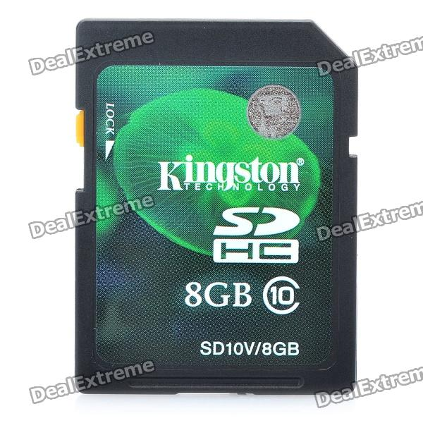 Genuine Kingston SDHC CLASS 10 SD Card with Write Protection Switch (8GB) genuine kingmax micro sd sdhc card with sd card adapter 8gb class 10