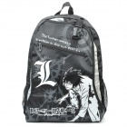 Fashion Death Note Image Pattern Backpack Bag