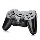 Rapoo 2.4GHz Dual-Shock Wireless PC Game Controller with USB Receiver - Black (2 x AA)