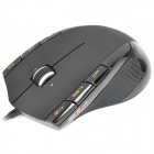 Rapoo V3 200~5000DPI Wired Gaming Laser Mouse - Black (120cm)