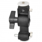 D Style Swivel Flash Stand Holder for Lamp and Camera - Black (3KG)