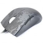 Rapoo V2X 500~3000DPI Professional Gaming Mouse - Black + Grey (160cm)